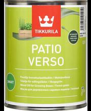 Mürgivaba puiduõli kasvuhoonele ja taimekastidele PATIO VERSO 0,9 l