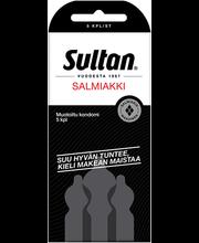 Kondoomid Sultan Salmiakki 5 tk