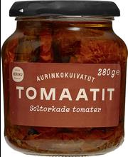 Herkku päikesekuivatatud tomatid 280 g