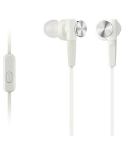 Nööpkõrvaklapid MDR-XB50AP Extra Bass, valge