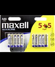 Patarei AAA LR-03 Alkaline 5+5 pack