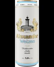 Alexander Weizen õlu 5%, 568 ml