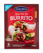 Burrito maitseainesegu 28 g