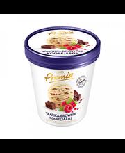 Vaarika-brownie jäätis, 500 ml