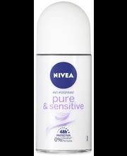 Rulldeodorant Pure&Sensitive 50 ml