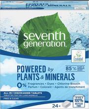 7th generation All in 1 nõudepesumasina tabletid 24 tk