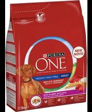 Täissööt koertele veiseliha ja riisiga 2,5 g