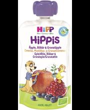 HIPPIS SMUUTI ÕUN-MUST-GR.ÕUN 100G 6K