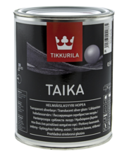 Pärlmutterlasuur TAIKA HOPEA HL 0,9L (hõbe)