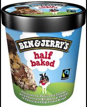 B&J šokolaadi-vanillijäätis küpsise ja šokolaaditükkidega , 4...
