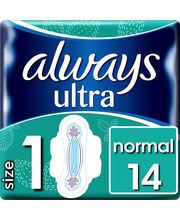 Always Ultra Normal hügieeniside 14 tk