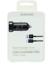 Samsungi USB-C -kaabliga minikiirlaadur