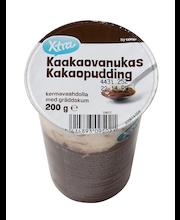 Kakaopuding vahukoorega, 200 g