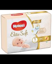 Huggies teipmähkmed Elite Soft 1,  1-5 kg, 26 tk