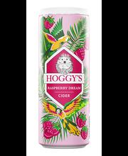 Hoggys vaarika siider 4.5% 355ml