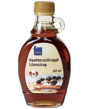Vahtrasiirup 187 ml