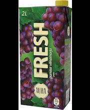 Aura Fresh punase viinamarja mahlajook, 2l