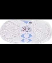Lõng Perfect Cotton 100 g, valge