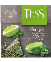 Tess Ginger Mojito, roheline tee 1.8g*20