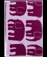 Vannirätik Finlayson Elefantti, 70 × 150 cm, veinpunane / roosa
