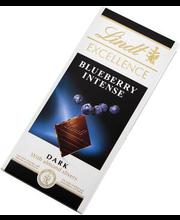 Lindt Excellence mustikatükkidega tume šokolaad 100 g