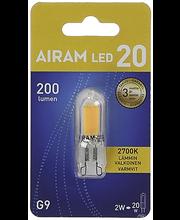 LED-lamp 2W GU9, 2700K 250LM
