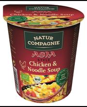 Orgaaniline ASIA kana-nuudlisupp topsis 55 g