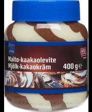 Piima-šokolaadikreem 400 g