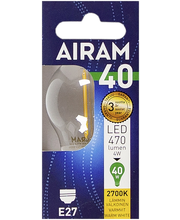 LED-lamp P45 4W/827 E27 FIL