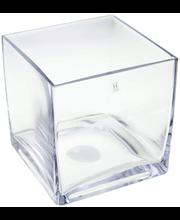 Vaas Cube 15 cm, klaas