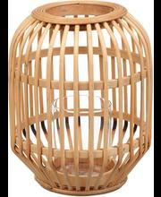 Bambuslatern 24 cm, naturaalne