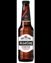 A.Le Coq Porter alkoholivaba tume õlu, 330 ml