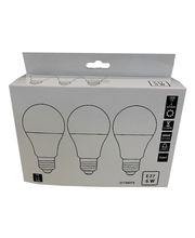 LED-lamp 6W E27, CM1 3000K 470LM, 3 tk