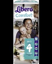 Libero teipmähkmed Comfort 4, 7-11 kg, 54 tk