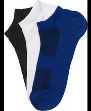 Meeste sokid 3-paari BM9022, sinine/valge/must 46-48