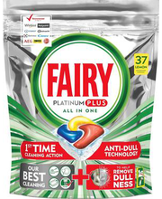 Fairy Platinum All in 1 nõudepesumasina tabletid 37 tk