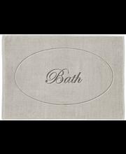 Vannitoavaip House Script Bath, 50 × 70 cm, beež