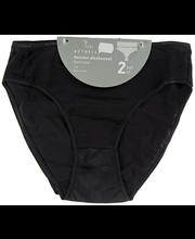Naiste aluspüksid Basic 2 paari must, XXL