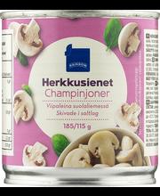 Šampinjoniviilud soolvees 185/115 g