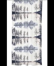 Kardin Heijastus 140 x 250 cm, sinine/beezh