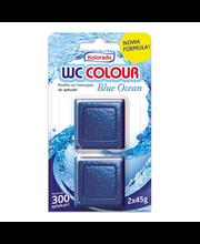 Kolorado Blue Ocean WC-loputuskasti värskendaja 2 x 45 g