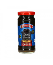 Mustad oliivid kivideta 220/110 g