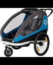 Jalgratta lastekäru Traveller, sinine