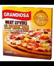 Meat Lovers Superiore kiviahjupitsa, 350 g