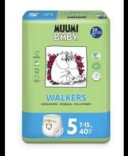 Muumi Baby püksmähkmed Walkers 5, 7-15 kg, 40 tk