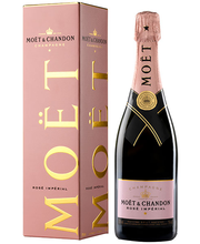 Moet & Chandon Brut Imperial Rose 750 ml, karbis