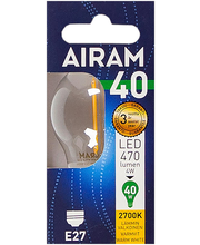LED-lamp P45 4W/827 E27 FIL