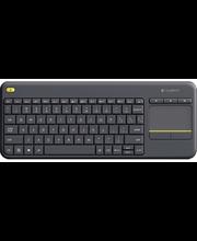 Klaviatuur K400 Plus, juhtmevaba must