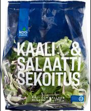 Kotimaista  salatisegu 180 g, tükeldatud salat: jääsalat, valge