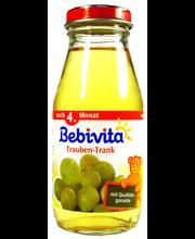 Bebivita viinamarjajook 200 ml, alates 4-elukuust